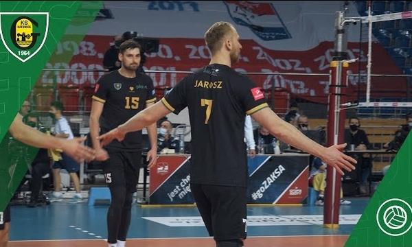 PlusLiga: Grupa Azoty ZAKSA Kędzierzyn-Koźle - GKS Katowice 3:0 (10 01 2021)