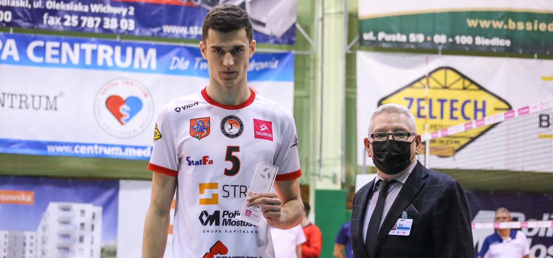 Jakub Strulak odchodzi z KPS-u Siedlce