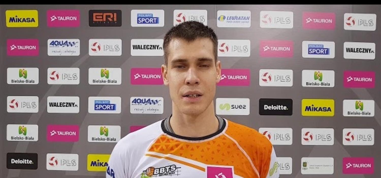 Wojciech Siek po zwycięskim meczu z Lechią Tomaszów Mazowiecki