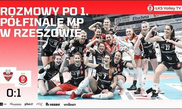 #TAURONLiga: Magda Saad i Michal Masek po 1. meczu półfinałowym z Developresem SkyRes Rzeszów