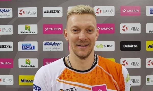 Oleg Krikun po zwycięstwie z Avią Świdnik