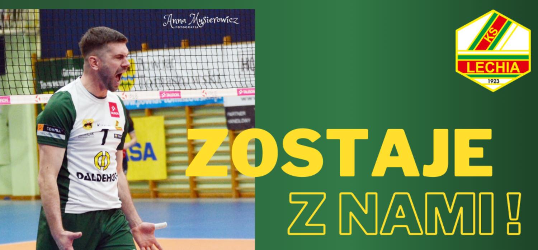 Michał Błoński przedłużył kontrakt z Lechią