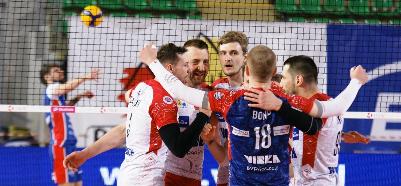 Galeria z meczu BKS Visła Bydgoszcz - eWinner Gwardia Wrocław
