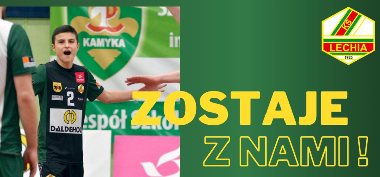 Jakub Kubacki na dłużej w Lechii