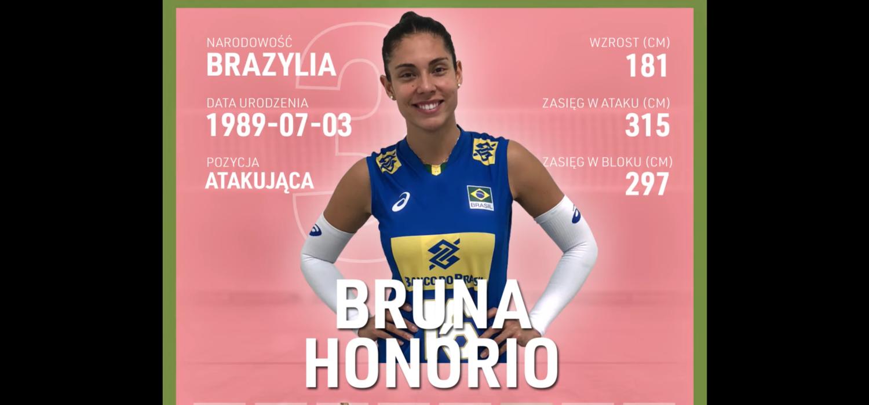 Bruna Honorio | Nowa atakująca KS DevelopRes Rzeszów | TAURONLiga 21/22