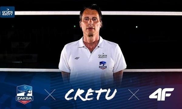 GHEORGHE CRETU nowym trenerem klubowych mistrzów Europy | ZAKSA x CRETU x 4f