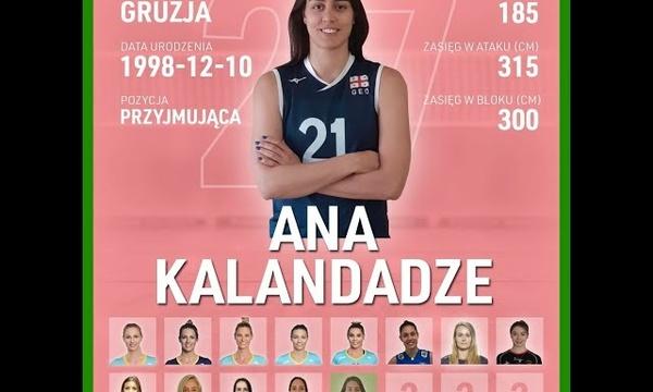 Ana Kalandadze   Nowa przyjmująca KS DevelopRes Rzeszów   TAURONLiga 21/22