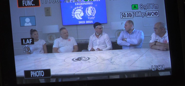Legionovia Legionowo ma nowego sponsora tytularnego