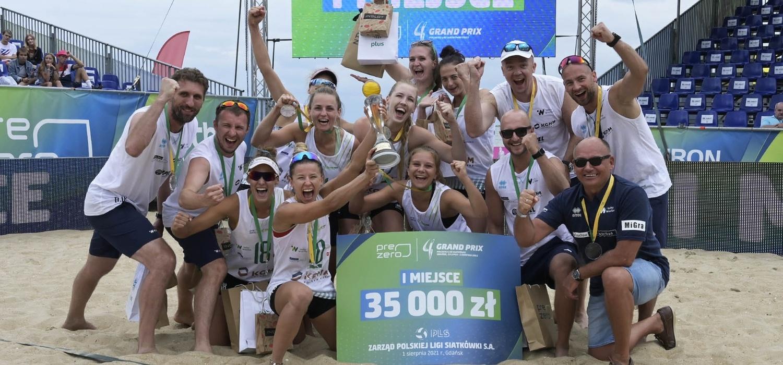 Impel VolleyWrocław mistrzem PreZero Grand Prix w Gdańsku!