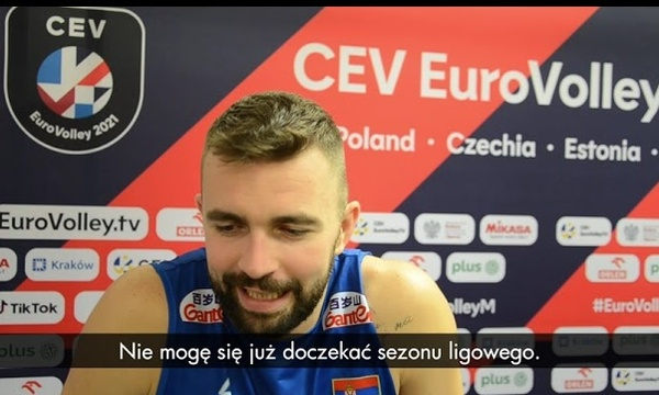 Uroš Kovačević: Dziękuję kibicom z Zawiercia!