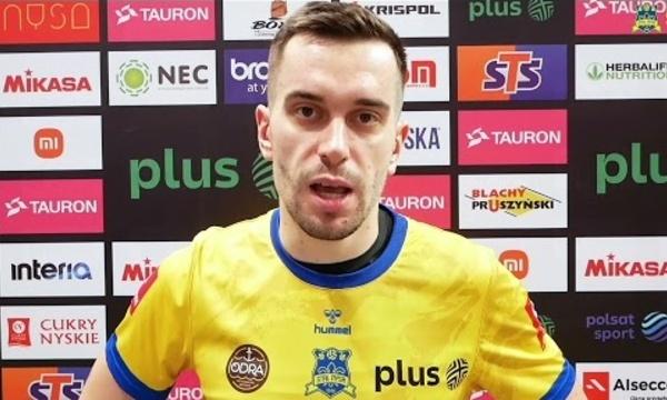 Marcin Komenda zaprasza na mecz z Asseco Resovią Rzeszów   #STALNYSA