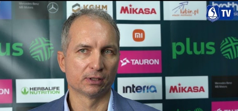 Andrzej Kowal po przegranej z Cuprum Lubin