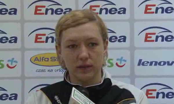 Agnieszka Kosmatka - Konferencja prasowa