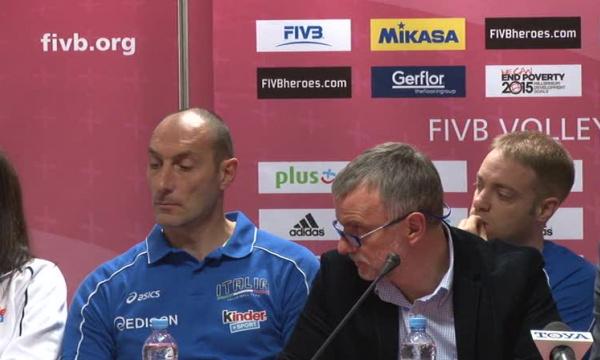 Konferencja prasowa przed World Grand Prix w Łodzi [