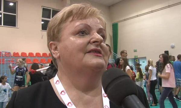 """Wiesława Pohoriło - Prezes SPD """"Tęcza"""" w Oławie"""