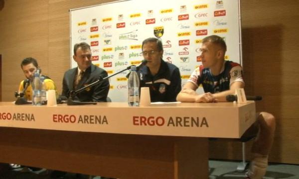 Konferencja prasowa po meczu Lotos Trefl Gdańsk - ZAKSA Kędzierzyn - Koźle