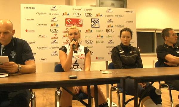 Konferencja prasowa po meczu Pałac Bydgoszcz - Impel Wrocław