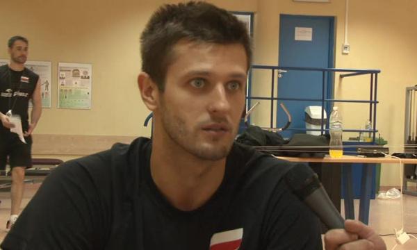 Michał mówi, a trener...
