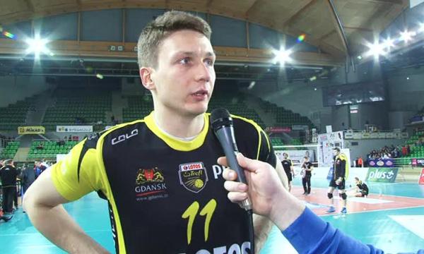 Maciej Zajdler-siatkarze Transferu lepiej wytrzymali to spotkanie....