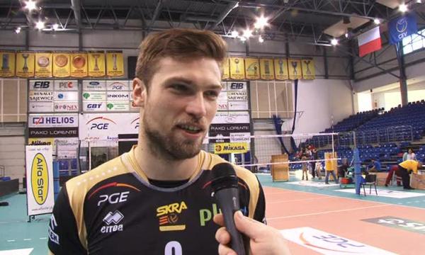 Andrzej Wrona-wszystko zaczyna się od dobrej zagrywki.