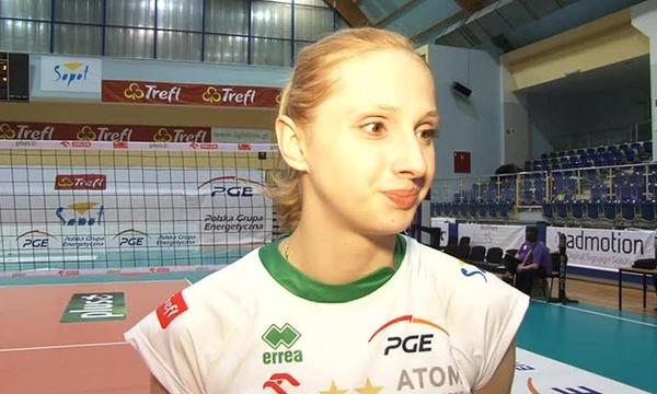 Zuzanna Efimienko-czuję się jak bym nie grała pół roku.