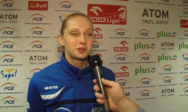 Zuzanna Efimienko-zagrywka naszą groźną bronią.