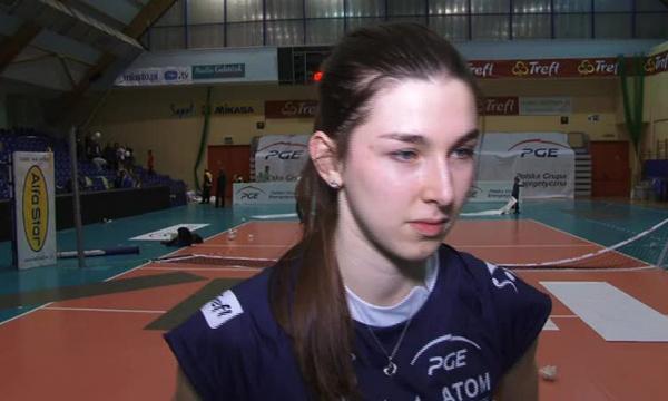 Justyna Łukasik-marze o złotym medalu.