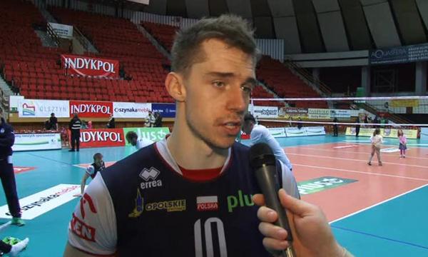 Wojciech Ferens-ukłony dla zawodników Olsztyna