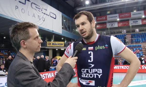Dominik Witczak - Zwycięstwo nie przyszło nam łatwo
