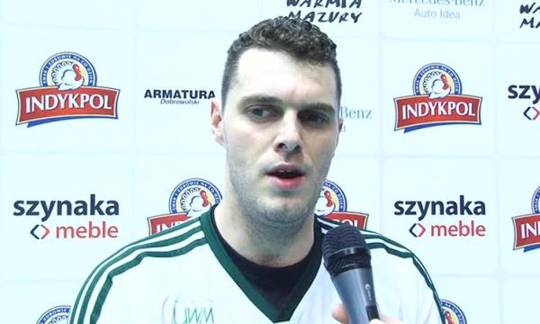 Piotr Łuka-może być 5 setów obyśmy wygrali.