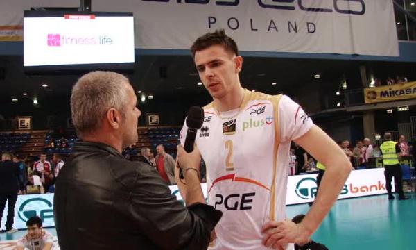 Mariusz Wlazły - To nie był łatwy mecz