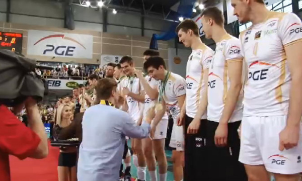 zlota Skra - podium