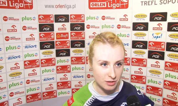 Agata Durajczyk-gratulacje dla Chemika.